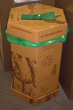Waste recycling bin